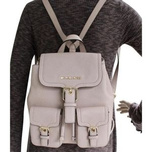 Michael Kors Susie Small Pebbled Leather Backpack